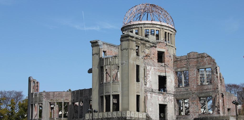平和公園原爆ドーム